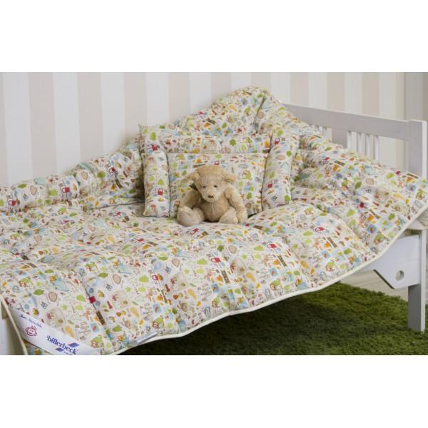 Комплект для немовлят БЕБІ ковдра + подушка 0203-02 00 Billerbeck (Україна- 9a48fd1dd27c1